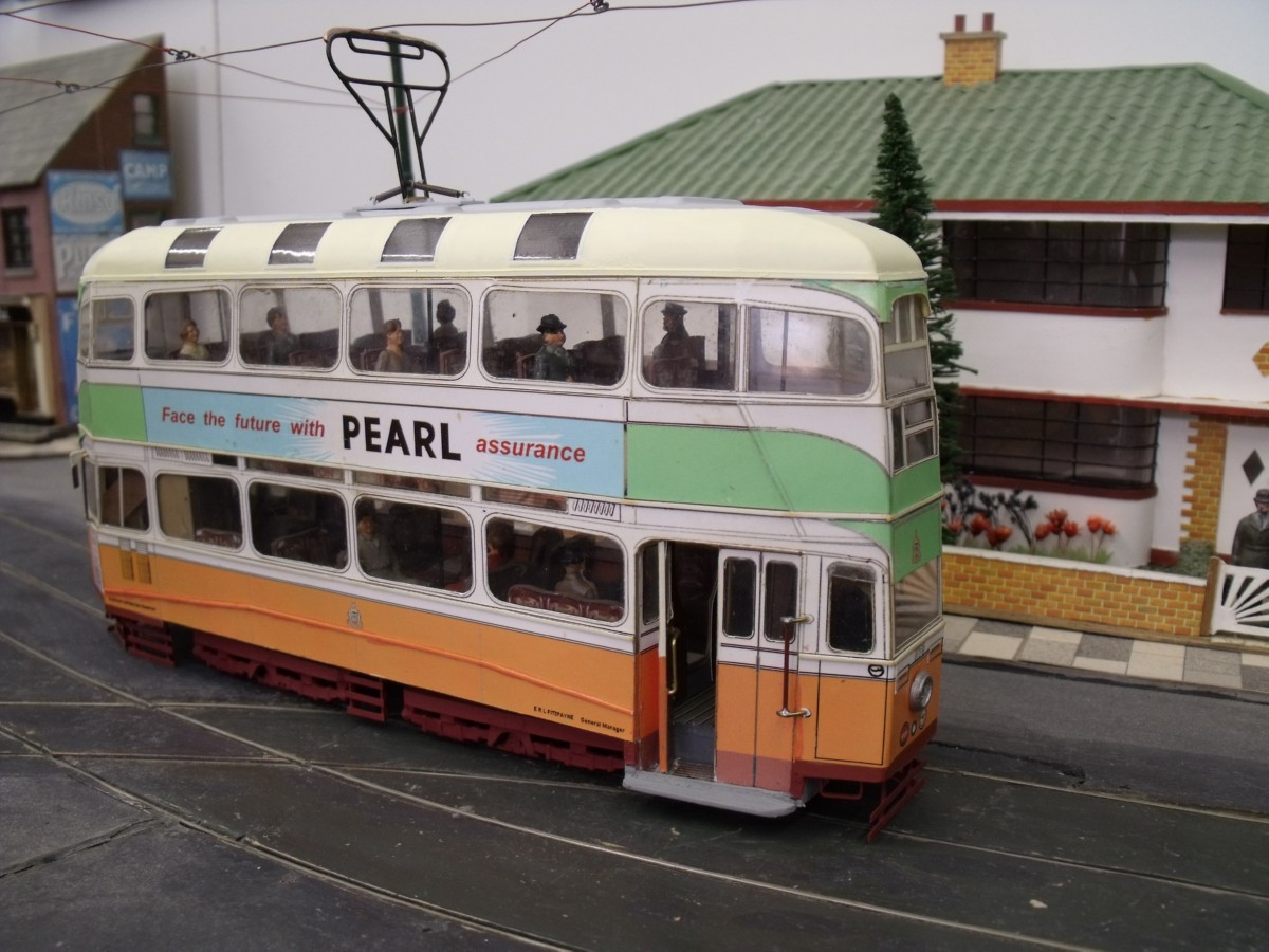 Terry Russell Trams Picture Gallery 7mm Model Trams