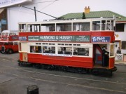 London Transport [ex LCC] class 500 tramcar in 1/43rd scale