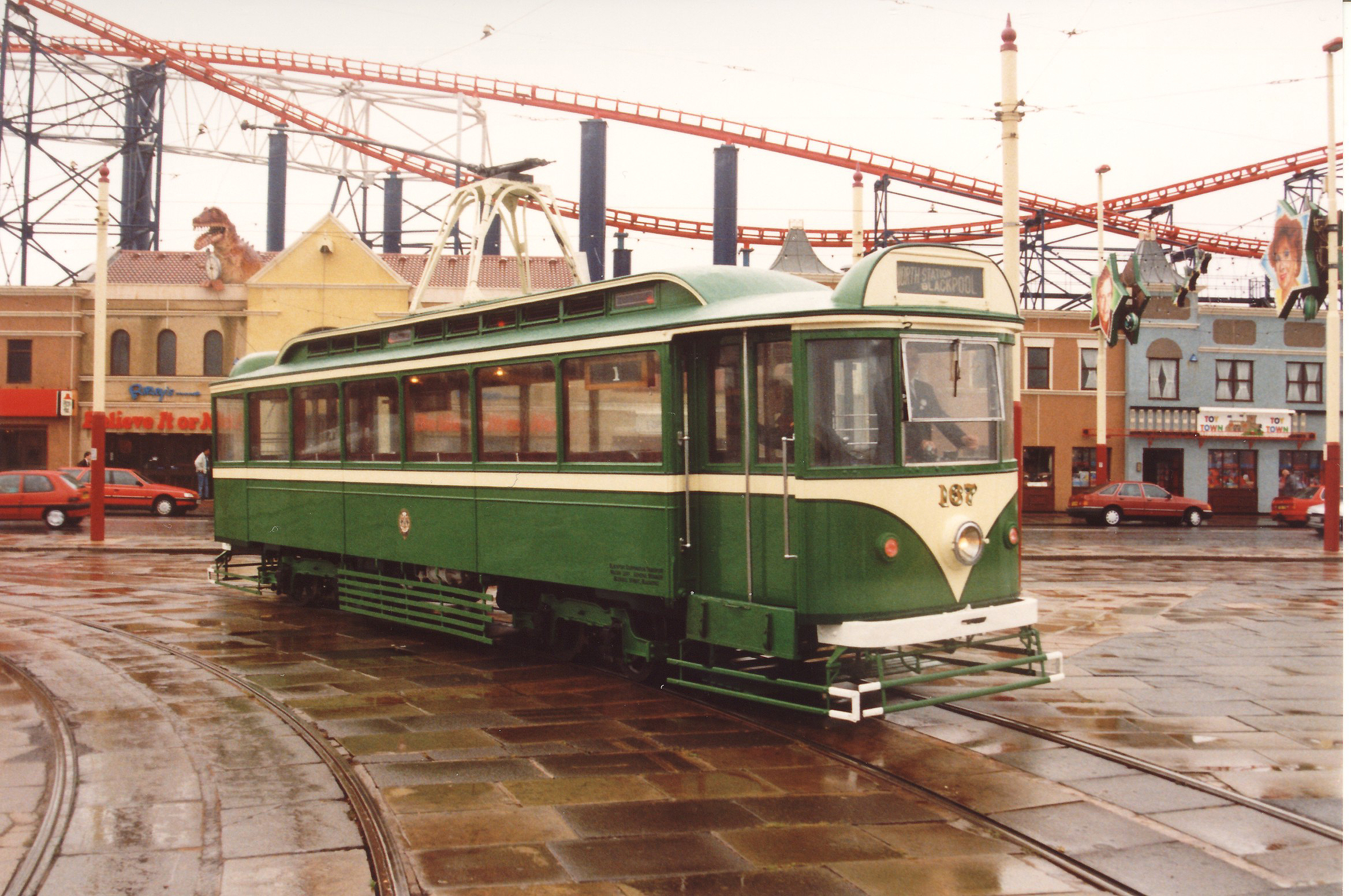 Terry Russell Trams Blackpool Pantograph Tramcar Kit